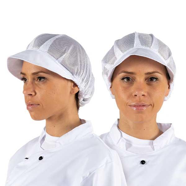 Toucas com ajuste elástico ideais para restauração, saúde e indústria