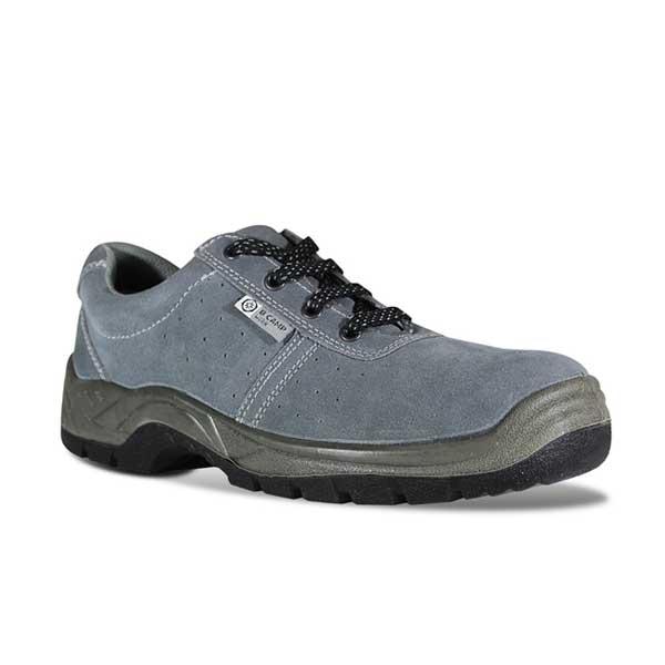 Sapatos com palmilhas em aço e sola resistente a calor e óleos
