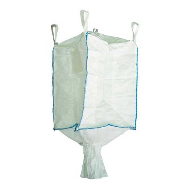 Os big bags, também conhecidos como FIBC (Flexible intermediate bulk container), são sacos industriais feitos com material flexível e resistente para transportar produtos a granel.