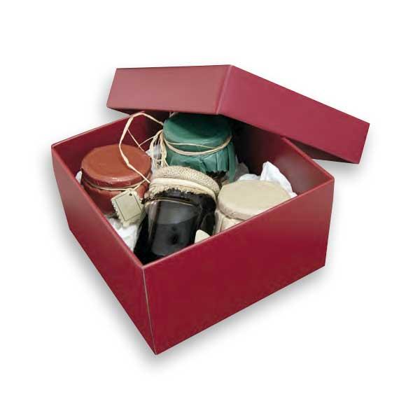 As caixas para presentes com tampa são ideais para ofertas especiais