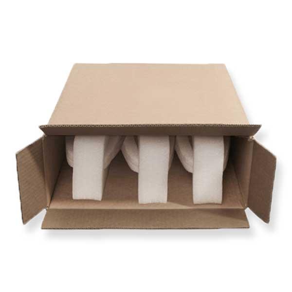 As caixas com espuma para garrafas são uma excelente solução para proteger as suas garrafas