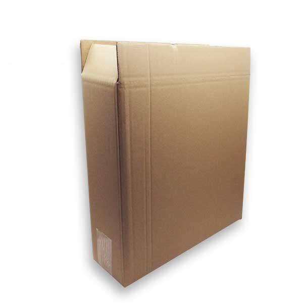 As caixas de cartão canelado duplo para garrafas são ideais para o envio de produtos frágeis