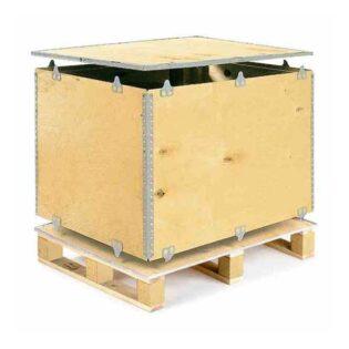 As caixas de contraplacado são ideais para qualquer tipo de envio e qualquer tipo de produto