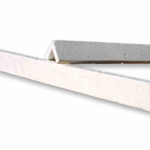 As cantoneiras de poliestireno são peças desenvolvidas com a finalidade de proteger qualquer peça durante o seu transporte e armazenagem.