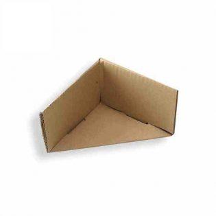 Os cantos de cartão montados são utilizados para o reforço das embalagens e para a proteção dos produtos durante o transporte e armazenagem