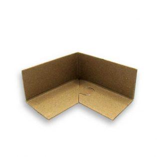 Os cantos de cartão puzzle são utilizados para o reforço das embalagens e para a proteção dos produtos durante o transporte e armazenagem