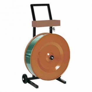 Melhor opção para a colocação e corte da fita de cintar polipropileno de 200mm e 280mm de diâmetro