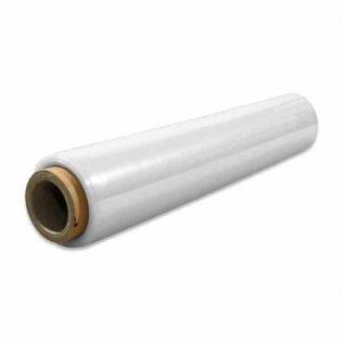 O filme estirável manual com tubo, graças à sua flexibilidade e capacidade elástica, adapta-se à forma dos seus produtos mantendo a sua carga sem ceder