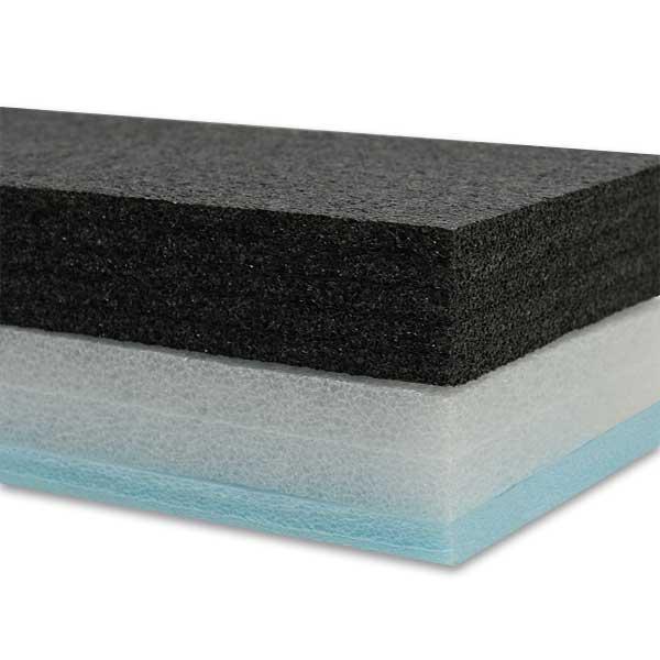 Este produto pode ser aplicado em isolamento térmico, construção de protótipos, isolamento de portas, artes plásticas, produção de maquetes, entre outras utilizações
