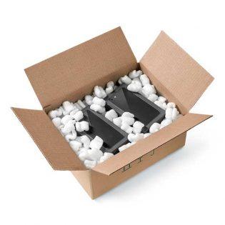 Este produto é utilizado para o preenchimento de espaços vazios, prevenindo choques durante o transporte