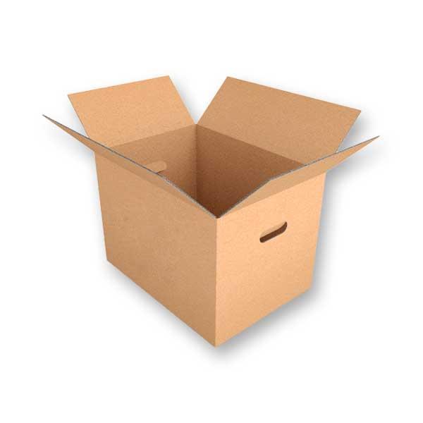 As caixas de cartão fino multifunções com pegas são uma excelente solução para transportar os seus produtos de maneira cómoda