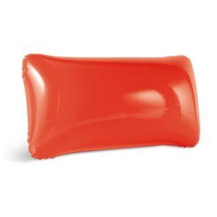 Almofada de praia insuflável em PVC opaco, disponível em várias cores