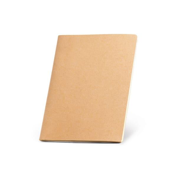 Bloco de notas A6 com capa em cartão (250 g/m²) e cantos redondos