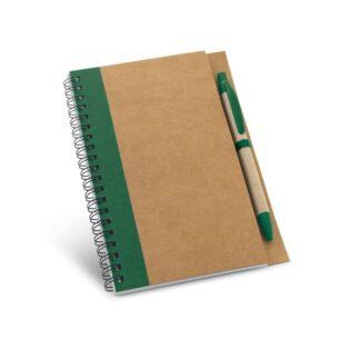 Contém 120 páginas lisas de papel reciclado e capa rígida em papel kraft