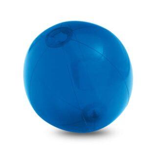 Bola insuflável em PVC translúcido, disponível em várias cores