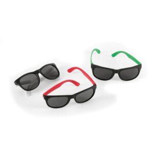 Óculos de sol em PP com acabamento fosco e com proteção 400 UV