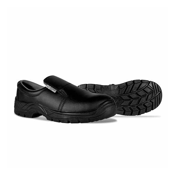 Sapatos de pele multiusos e biqueira de aço