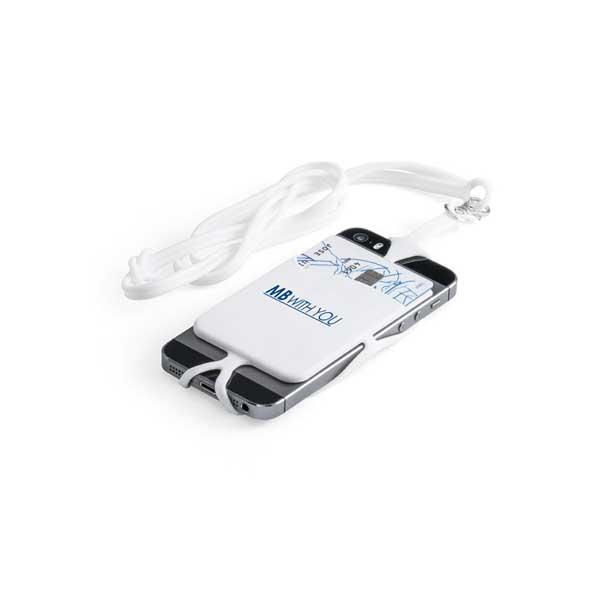 Inclui lanyard e suporte para smartphone