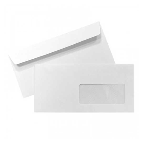 Abertura rápida, fácil e ampla, permitindo visualizar o conteúdo do envelope e retirar facilmente os documentos