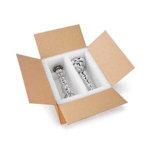 As caixas com espuma são ideais para a proteção dos seus produtos contra vibrações e choques.