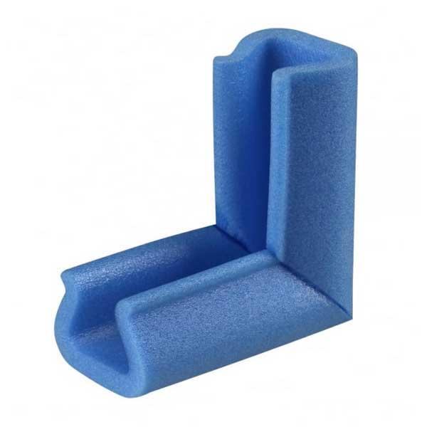 Esta solução é ideal para proteção de cantos