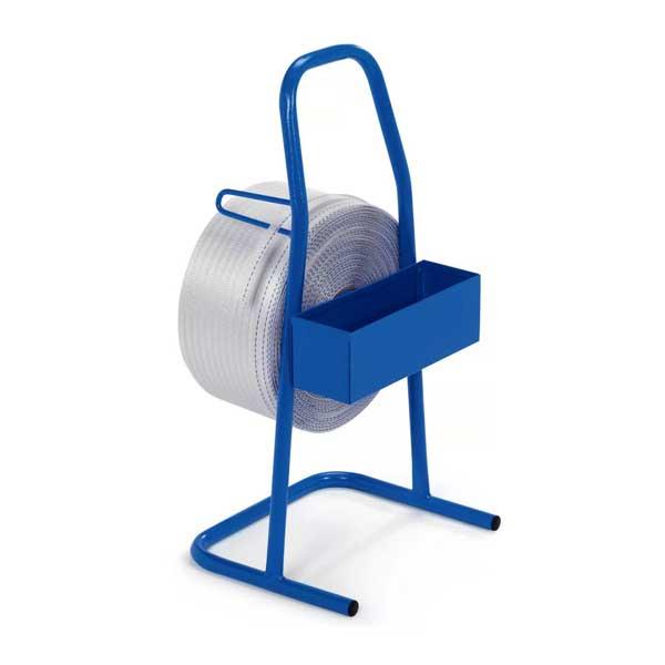O desenrolador de cinta com suporte é a melhor opção para a colocação e corte da fita de cintar têxtil