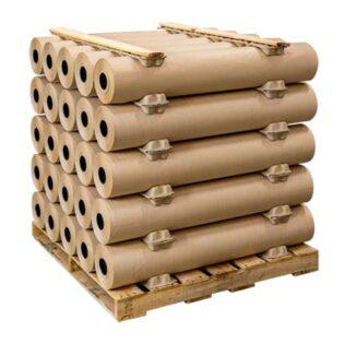 As divisórias para rolos são produzidas em fibra de papel e são muito úteis para garantirem a estabilidade durante o transporte/armazenamento