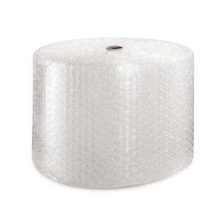 Plástico bolha em rolos com pré-cortes para facilitar a aplicação