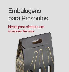 Banner Embalagens para Presentes